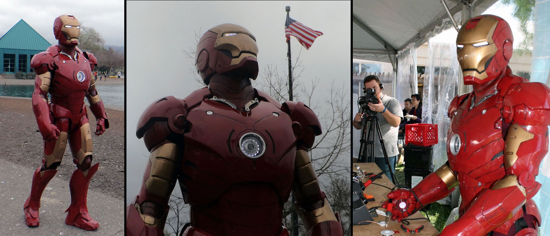 CarveWright made Iron Man Suit
