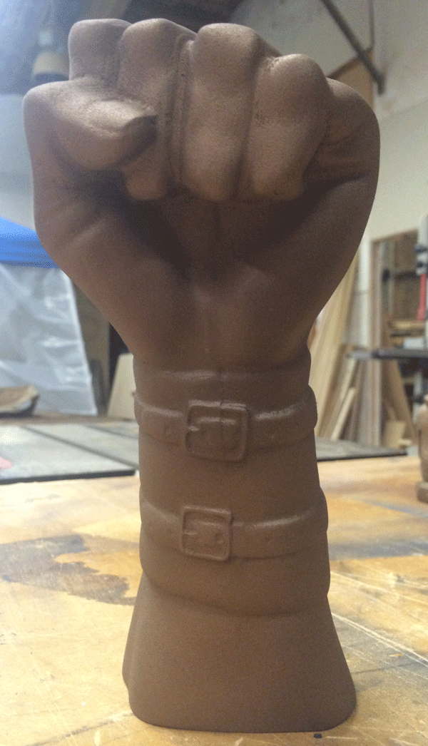 CarveWright_bronze_fist