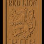 Red Lion Pub Sign