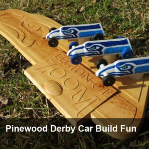Pinewood Derby Car Build Fun