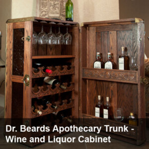 Dr. Beards Apothecary Trunk Project