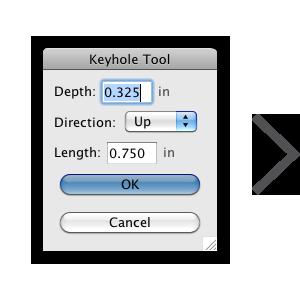 Keyhole_tool_panel