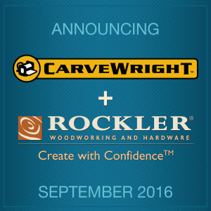 CarveWright Now Available in Rockler Woodworking Stores Nationwide