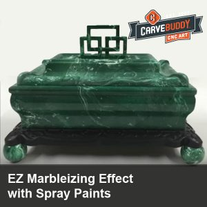 EZ Marbleizing Effect with Spray Paints
