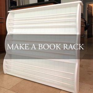 Make A Book Rack