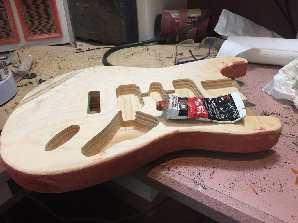 guitar filling
