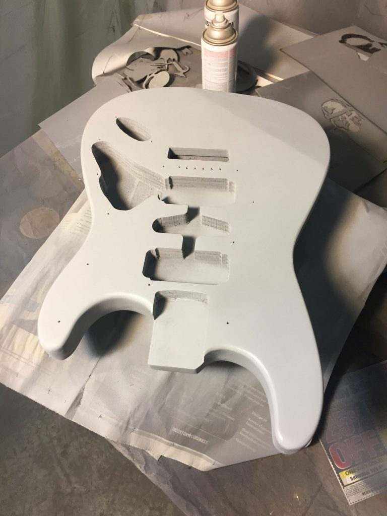 guitar primer finish