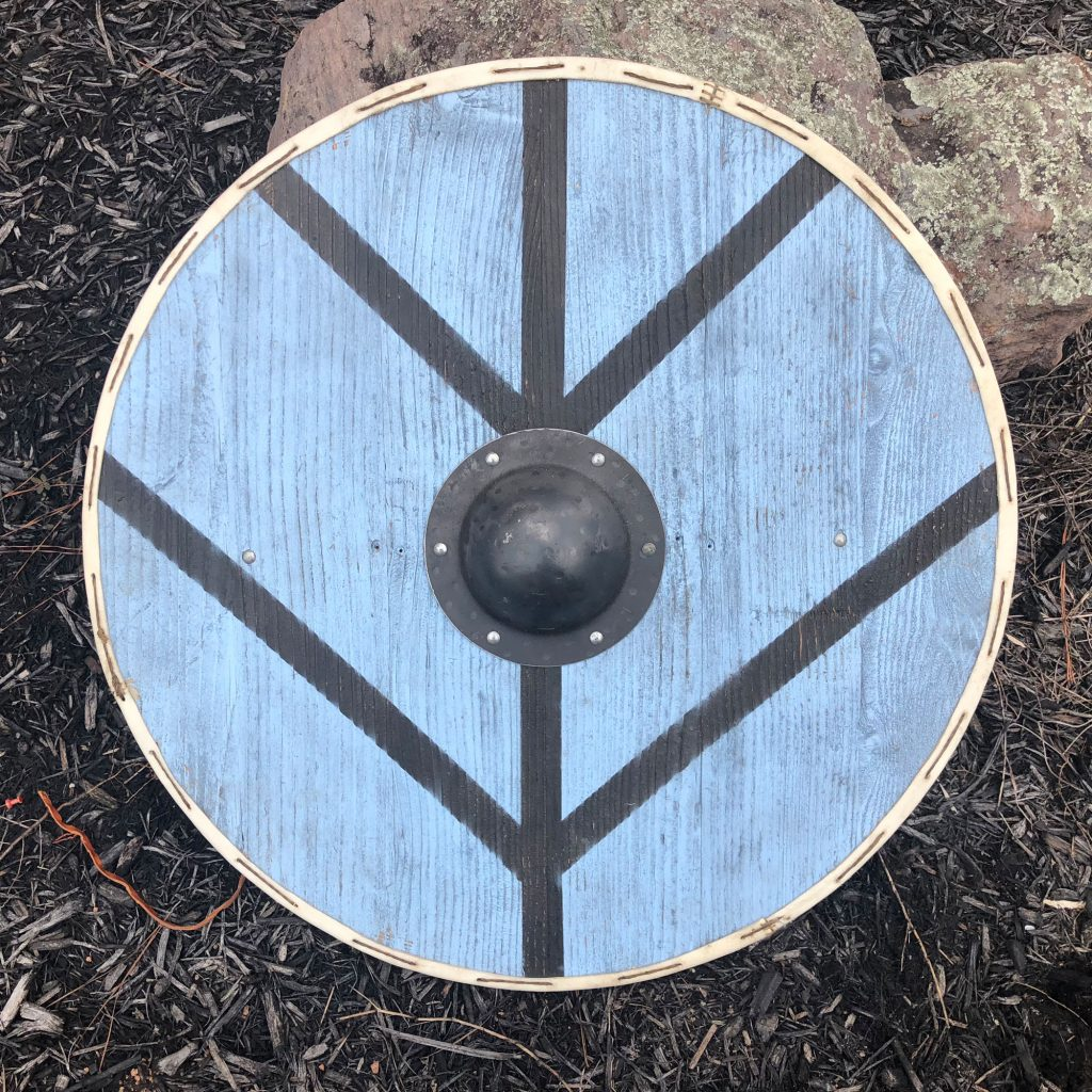 Finished viking shield