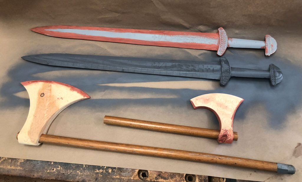 viking weapons bondo