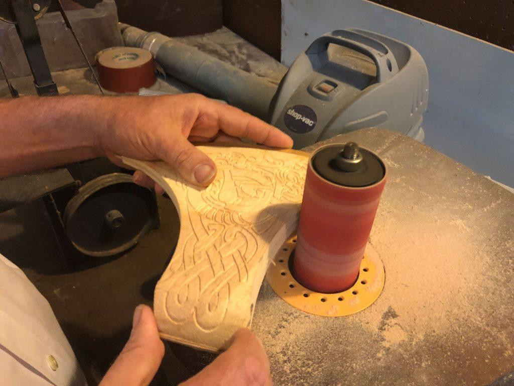 drum sanding