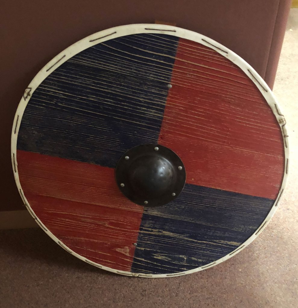Finished shield