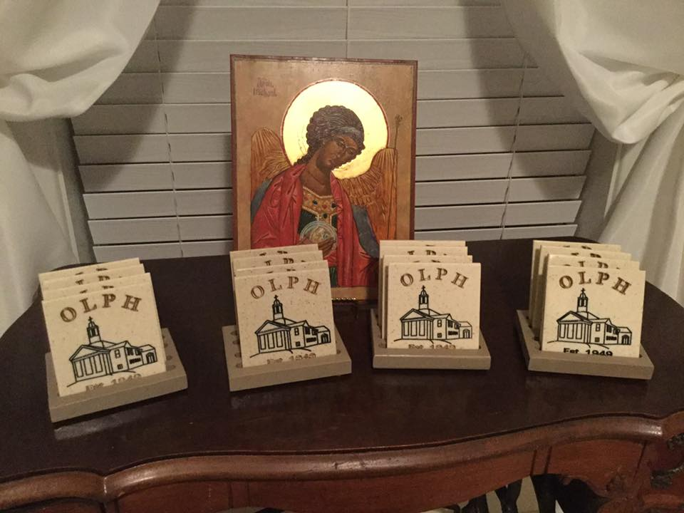 church coasters
