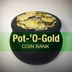 Pot-'O-Gold Coin Bank