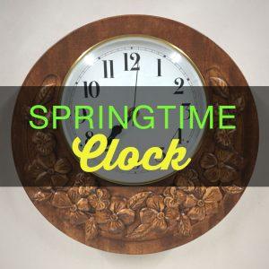 Build a Springtime Clock!
