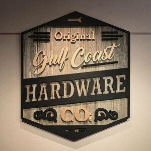 Vintage Hardware Co. Sign