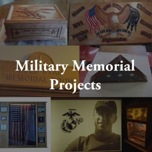 CarveWright Users Making Military Memorial Projects