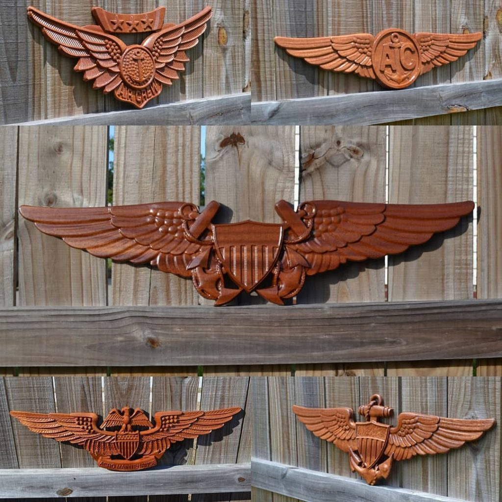 CarveWright Military Emblems