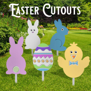 Create Some Simple Easter Cutout Projects