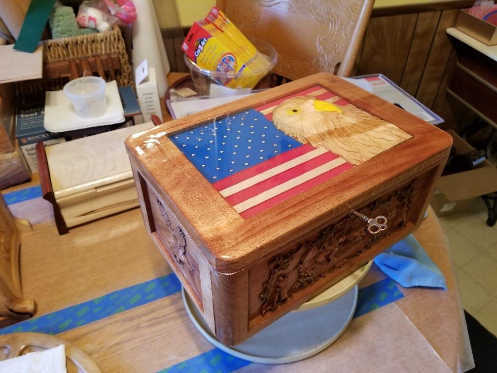epoxy box
