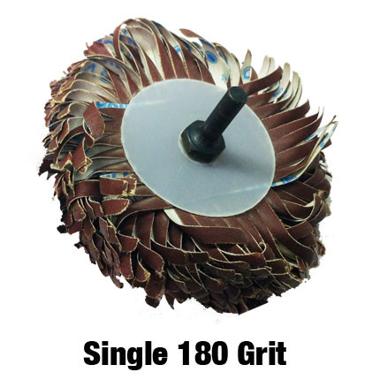 Single 180 Grit Sanding Mop Kit