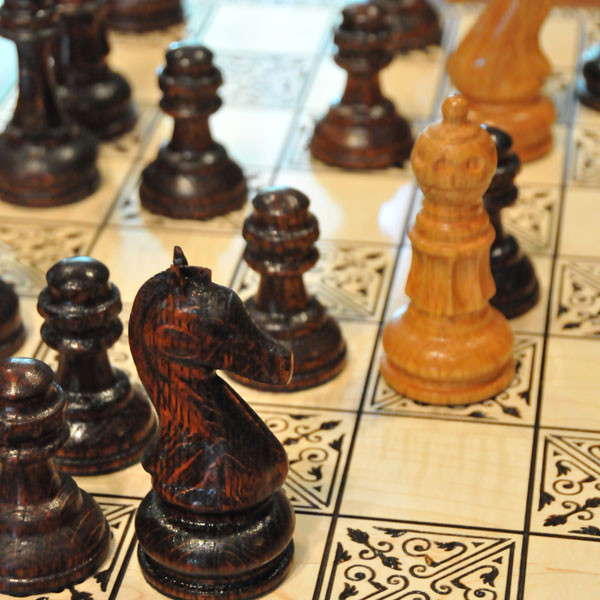 Rotary Chess pieces