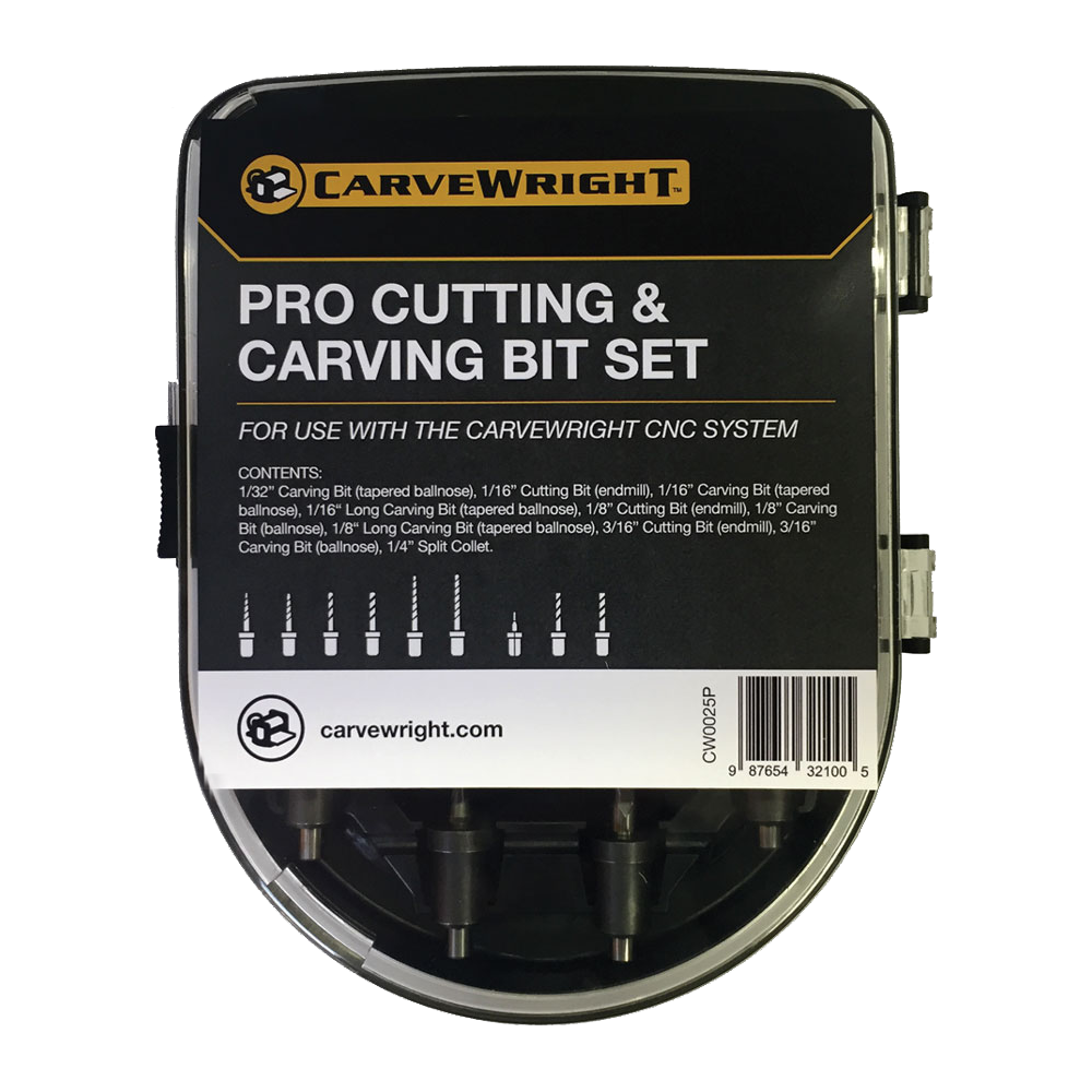 Pro Cutting and Carving Bit Set