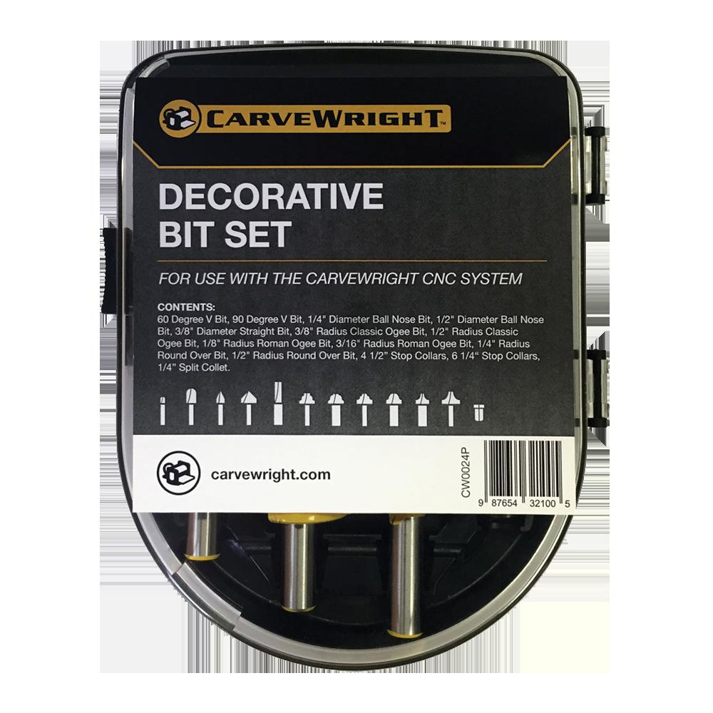 Decorative Router Bit Set