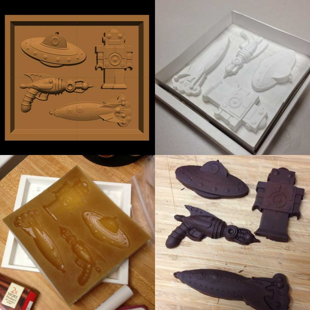 CarveWright Chocolate Mold